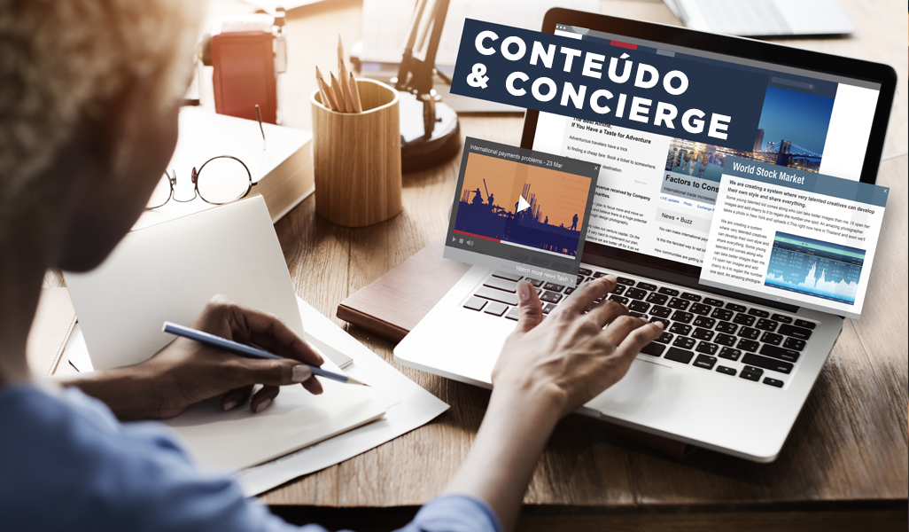 Conteúdo e Concierge
